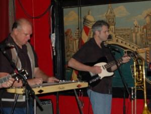 """Bob """"Texaco"""" Stafford and Eddie Rivers"""