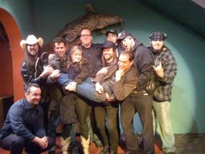 Bob Wayne, Wayne Hacock, Outlaw Carnies, Wayne's Band, Gina Gallina, Dog Bite Harris circa ???