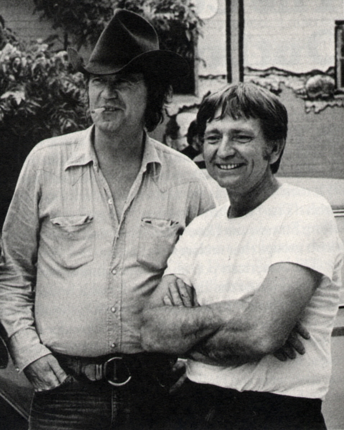 "Willie & Billy Joe Shaver Protest in ""Hard to be An Outlaw"""