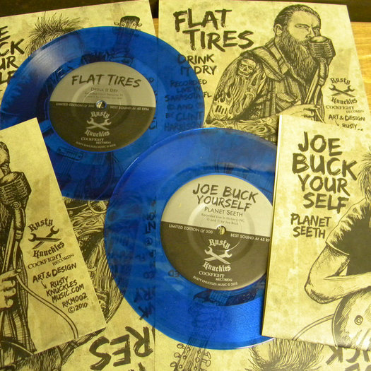 RSD Preview – Vinyl Review – Joe Buck / Flat Tires Split 7″