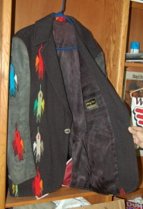 Johnny Cash custom-made wool coat