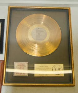 "The first platinum record in country music for ""Wanted, The Outlaws"""