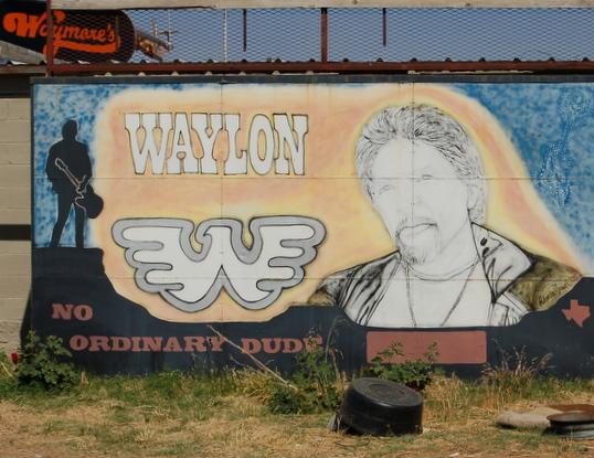Waylon Jennings Is Still Alive in Littlefield, TX