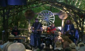 Whitey Morgan & The 78's on the Woods Stage