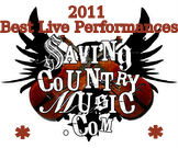 Saving Country Music's Best Live Performances of 2011