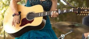 Ruby Jane's Stolen 12-string acoustic Gibson guitar