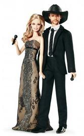 Tim McGraw & Faith Hill Barbie Dolls