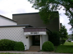 "Historic RCA Studio 'B"" is 1 1/2 miles from the Hall of Fame, but ferries museum visitors back and forth"