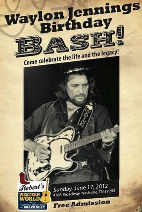 Waylon Birthday Bashes Join to Benefit Diabetes Research