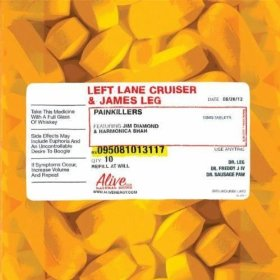 "Left Lane Cruiser & James Leg to Release ""Painkillers"""