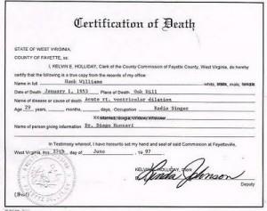 hank-williams-death-cirtificate