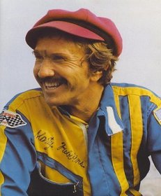 Marty Robbins with the gash between his eyes.