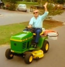 George Jones & His Notorious Riding Lawnmower