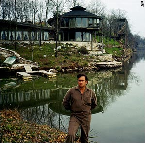 Johnny Cash's Hendersonville, TN lake house