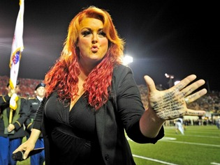 Wynonna Judd Needs A Hand With National Anthem
