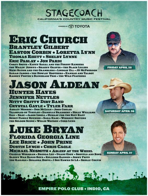 Why The Stagecoach Festival Lineup is a Good Thing