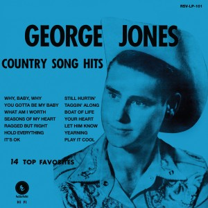 George Jones' First Album Reissued on Vinyl (Giveaway)