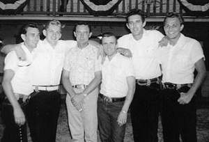 Donny Young aka Johnny Paycheck on the right side of Ray