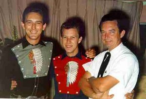 Darrell McCall between Buddy Emmons and Ray Price. buddyemmons.com