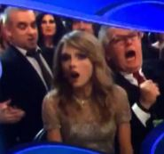 Funny: Taylor Swift & Friends Flinch at Best Album Grammy