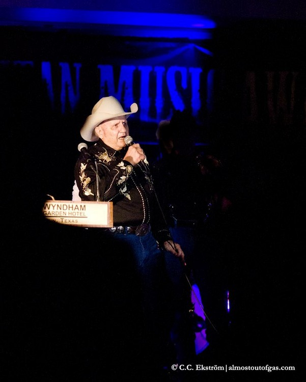 James White from The Broken Spoke, voted Ameripolitan's Best Venue