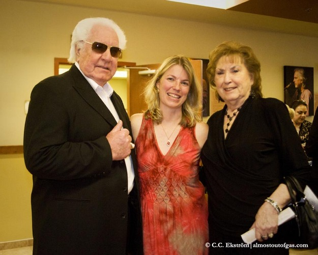 """Founder of the Sound"" W.C. ""Fluke"" Holland with his wife and friend."