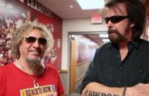Sammy Hagar and Ronnie Dunn share the same manager