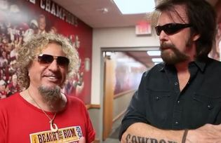 Sammy Hagar and Ronnie Dunn share the same manager