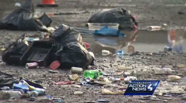 Huge Mess Left in Wake of Luke Bryan Pittsburgh Concert