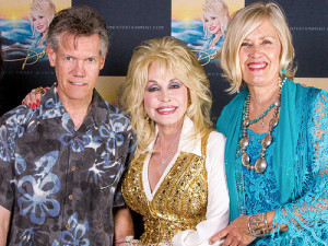 Randy & Dolly Parton in early June, 2014