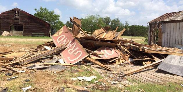 "Willie Nelson's ""Luck, TX"" Town Badly Damaged in Storm"