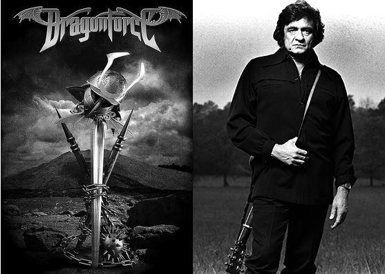 "Metal Band \m/ DragonForce \m/ Covers Johnny Cash's ""Ring of Fire"""