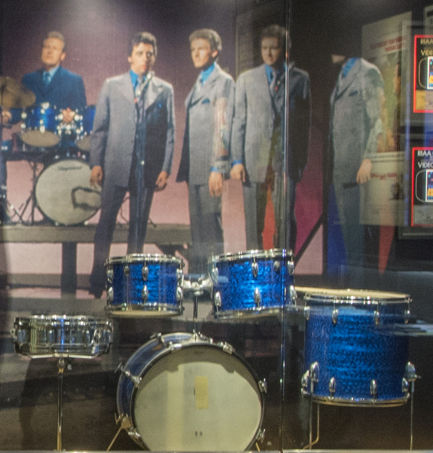 The Most Important Drum Set in Country On Display At Cash Museum