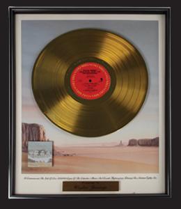 waylon-highwayman-gold-record