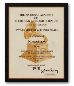 waylon-jennings-grammy-plaque