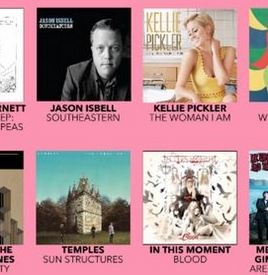 Jason Isbell & Kellie Pickler to Release Pink Vinyl