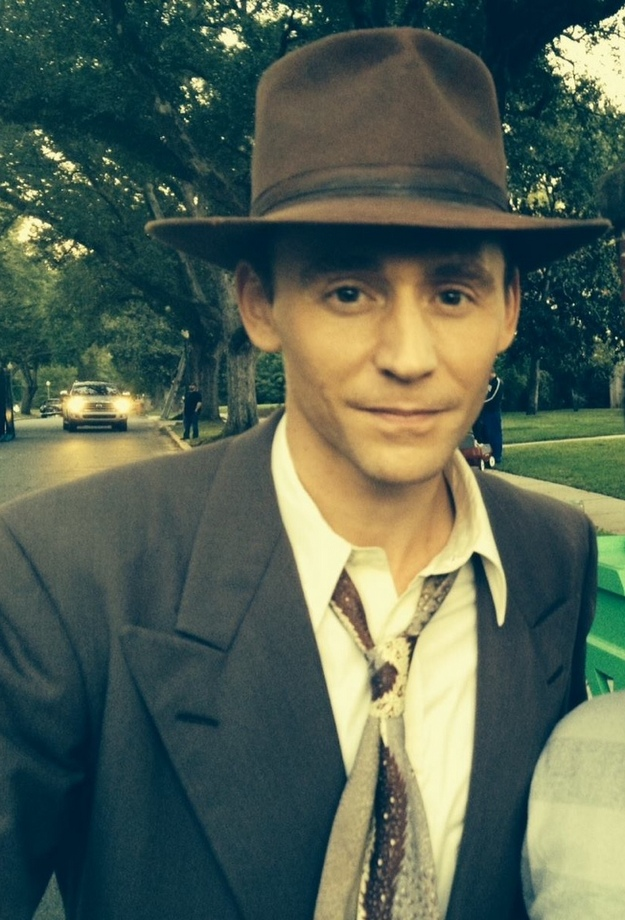 "First Images of Hiddleston as Hank Williams from ""I Saw The Light"""