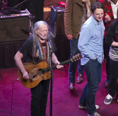 Sturgill Simpson & Willie Nelson Ring in New Year at ACL