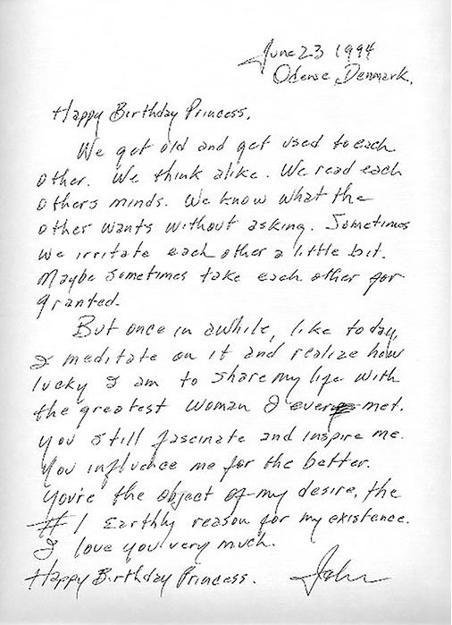 Johnny Cash's Note to June Voted Greatest Love Letter of All Time