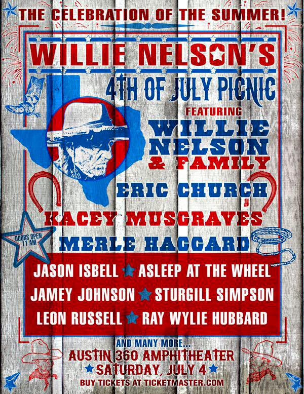 An Open Letter to C3 Presents in Regards to Willie Nelson's 4th of July Picnic