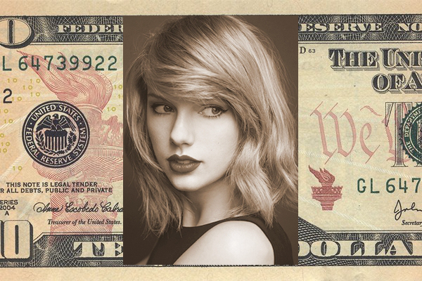 Taylor Swift Announced As New Face Of 10 Bill After Solving Mother Of All 1st World Problems