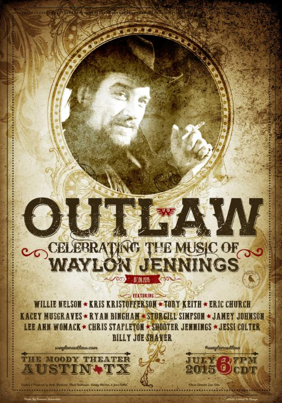 Huge Waylon Jennings Tribute Show Announced