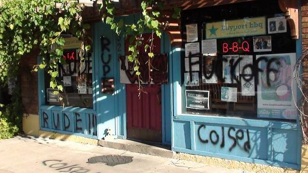 Beloved BBQ Eatery & Renown Music Venue Vandalized
