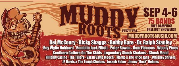 Muddy Roots Festival Readies 2015 Installment with Legendary Country Lineup