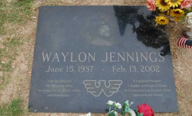 Waylon Jennings Grave 1 Saving Country Music