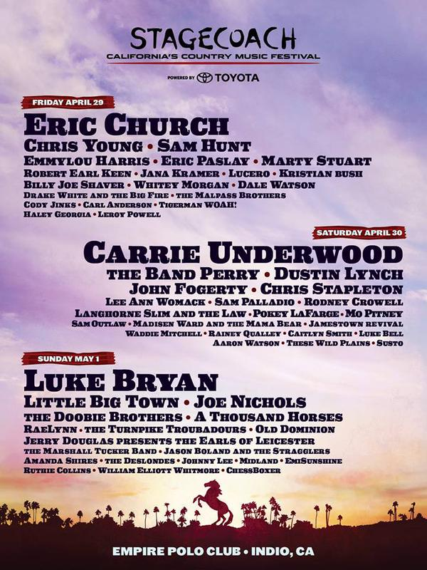 Forget The Headliners, The 2015 Stagecoach Lineup is a Great Study in Who to Watch in Country