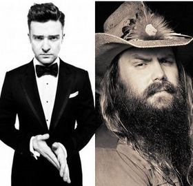 Chris Stapleton To Perform With Justin Timberlake On The