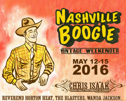 Chris Isaak to Headline Nashville Boogie – Full Lineup Released