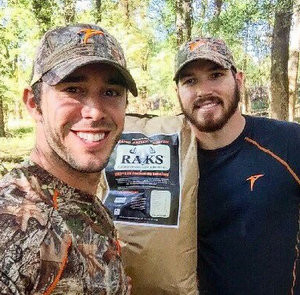 Craig Strickland (left), and Chase Morland (right)
