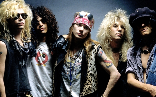 How Country Was the Original Guns N' Roses?
